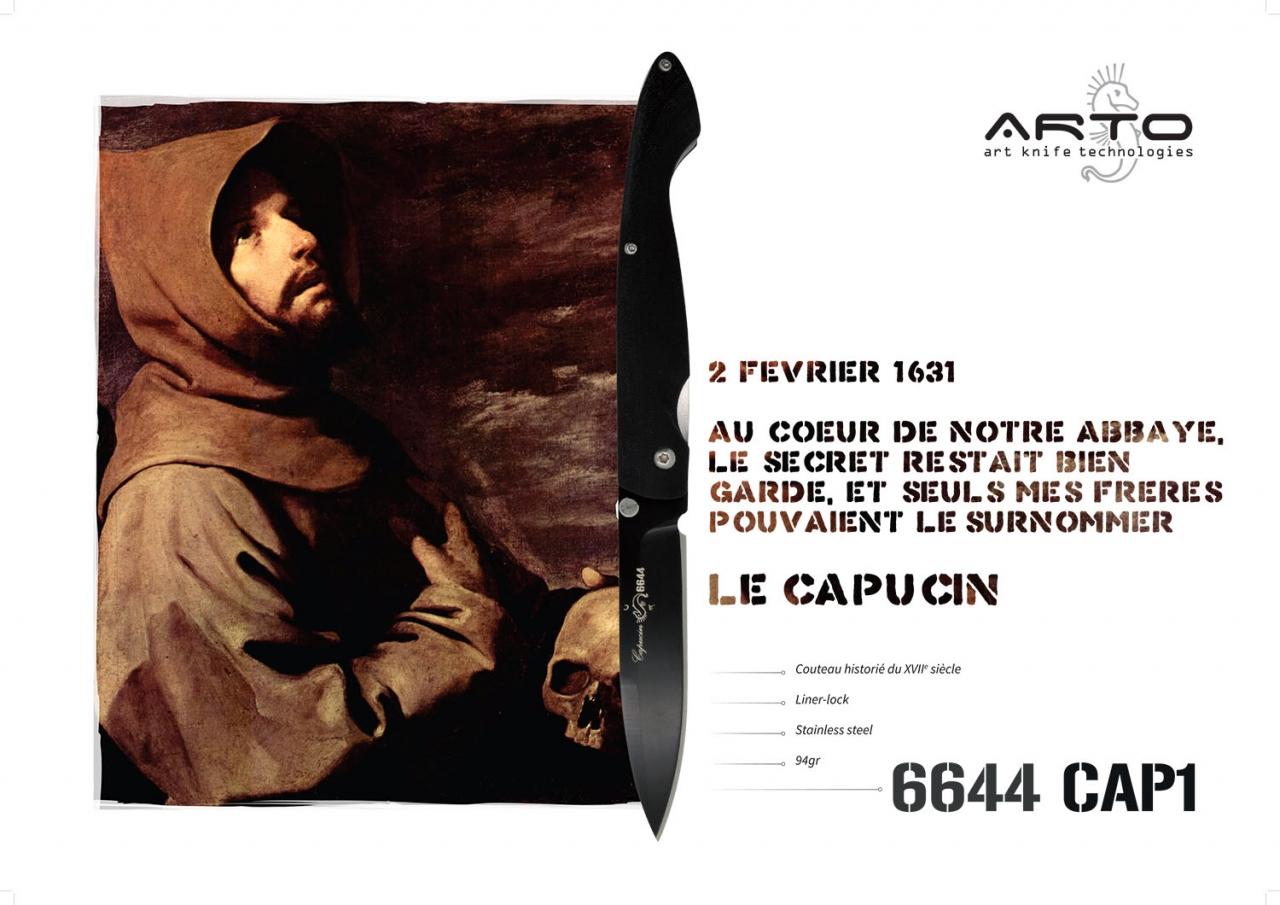 Romain Belotti - Graphiste à Lyon Arto Knives       Publicité