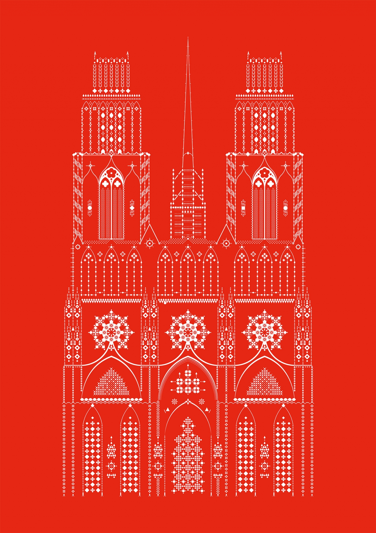 Romain Belotti - Graphiste à Lyon Cathédrale       Illustration