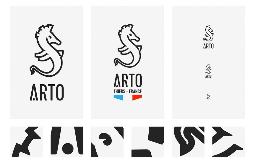 Romain Belotti - Graphiste à Lyon Arto       Identité